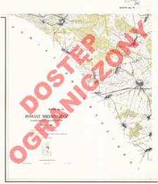 Powiat Międzyrzecz : województwo zielonogórskie : skala 1:25 000