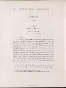 Fermat à Carcavi > 20 août 1650