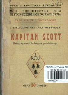 Kapitan Scott : dzieje wyprawy do bieguna południowego