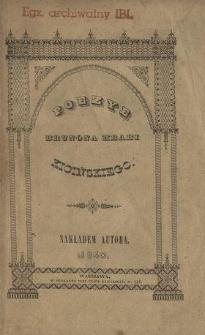 Poezye Brunona hrabi Kicińskiego, częścią przekładane, częścią oryginalne w XII. tomach. T. 4.