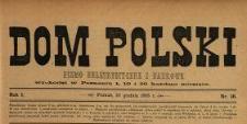 Dom Polski : pismo beletrystyczne i naukowe 1888 N.36