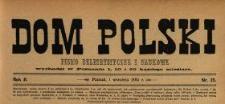 Dom Polski : pismo beletrystyczne i naukowe 1889 N.25