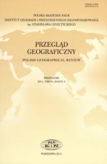 Przegląd Geograficzny T. 83 z. 2 (2011), Kronika