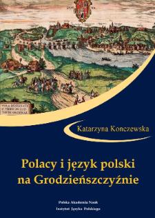 Polacy i język polskina Grodzieńszczyźnie