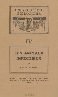 Animaux infectieux