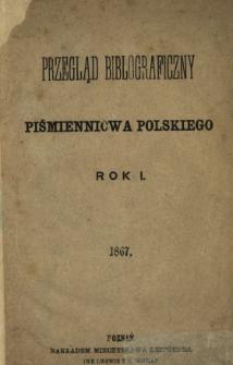 Przegląd Bibliograficzny Piśmiennictwa Polskiego