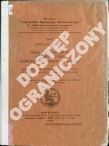Próba charakterystyki paleobotanicznej Dąbrowskiego Zagłębia Węglowego = Essai d'une caractéristique paléobotanique du bassin houiller de Dąbrowa en Pologne