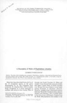 A description of males of Hoplolaimus columbus