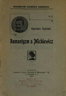 Romantyzm a Mickiewicz