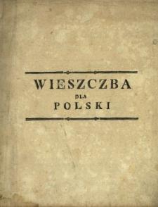 Wieszczba Dla Polski