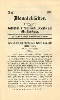 Monatsblätter Jhrg. 11, H. 4 (1897)