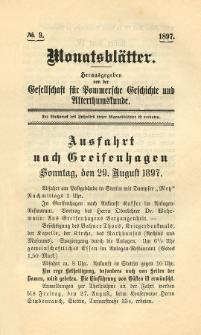 Monatsblätter Jhrg. 11, H. 9 (1897)