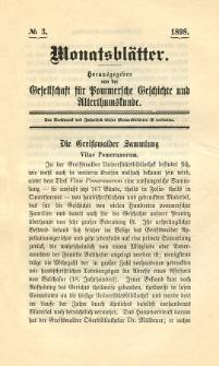 Monatsblätter Jhrg. 12, H. 3 (1898)