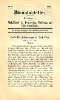 Monatsblätter Jhrg. 12, H. 9 (1898)
