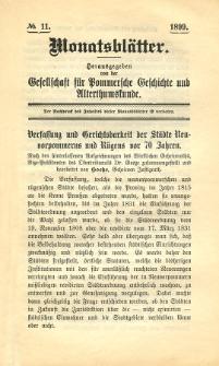 Monatsblätter Jhrg. 12, H. 11 (1898)