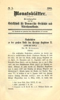Monatsblätter Jhrg. 14, H. 9 (1900)