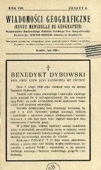 Wiadomości Geograficzne R. 8 z. 2 (1930)