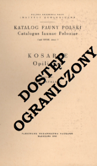 Kosarze = Opiliones