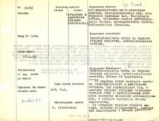 File of histopathological evaluation of nervous system diseases (1966) - nr 53/66