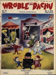 Wróble na Dachu : tygodnik satyryczno-humorystyczny : wychodzi w każdą niedzielę w Warszawie i Krakowie 1930 N.19