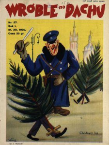 Wróble na Dachu : tygodnik satyryczno-humorystyczny : wychodzi w każdą niedzielę w Warszawie i Krakowie 1930 N.27