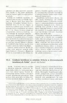 Gradacje kornikowe w ostatnim 50-leciu w drzewostanach świerkowych Polski