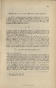 Mesure de la valence des ions dans les gaz, Le Radium, 1913, 10, 113