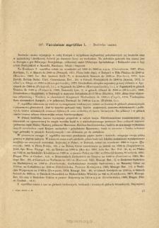 147. Vaccinium myrtillus L. - Borówka czarna