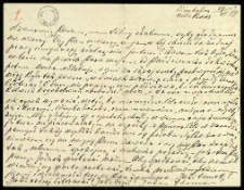 Listy do Tadeusza Garbowskiego z lat 1899-1910