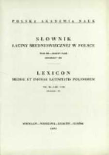 Słownik łaciny średniowiecznej w Polsce. T. 3 z. 5 (23), Discrimen-Do