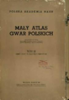 Mały atlas gwar polskich. T. 3, cz.1. Mapy.