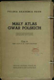 Mały atlas gwar polskich. T. 6, cz.1. Mapy 251 - 300.