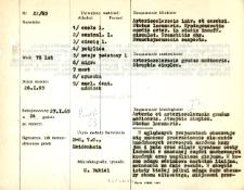 File of histopathological evaluation of nervous system diseases (1965) - nr 22/65