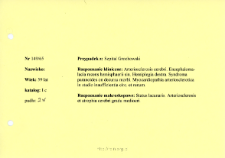File of histopathological evaluation of nervous system diseases (1965) - nr 149/65