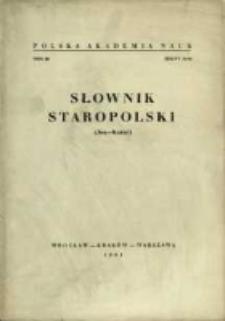 Słownik staropolski. T. 3 z. 3 (16), (Jen-Karać)