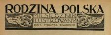 Rodzina Polska : miesięcznik ilustrowany z dodatkiem: Dział Kobiecy : wydawnictwo Kongregacji Misyjnej ks. ks. Pallotynów 1931 N.9