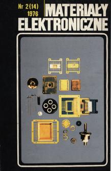 Spis treści 1976 nr 2(14)