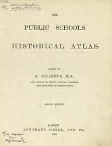 The Public school historical atlas