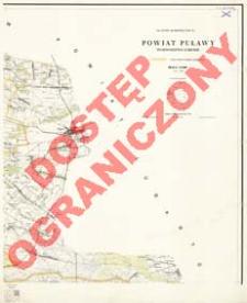 Powiat Puławy : województwo lubelskie : skala 1:25 000