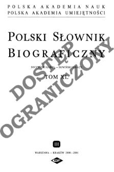 Sołtyk Maciej, wojewoda sandomierski - Sowiński Ignacy Stanisław