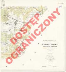 Powiat Otwock : województwo warszawskie : skala 1:25 000