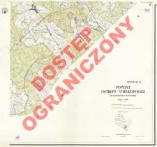 Powiat Ostrów Wielkopolski : województwo poznańskie : skala 1:25 000