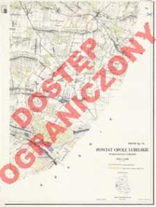 Powiat Opole Lubelskie : województwo lubelskie : skala 1:25 000