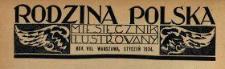 Rodzina Polska : miesięcznik ilustrowany z dodatkiem: Dział Kobiecy : wydawnictwo Kongregacji Misyjnej ks. ks. Pallotynów 1934 N.1