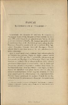 Pascal mathématicien et physicien