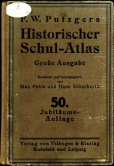 F. W. Putzgers Historischer Schul-Atlas