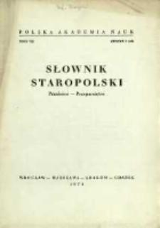 Słownik staropolski. T. 7 z. 2 (42), (Przaśnice-Przepamiętać)