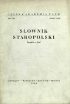 Słownik staropolski. T. 8 z. 5 (52), (Smętek-Stać)
