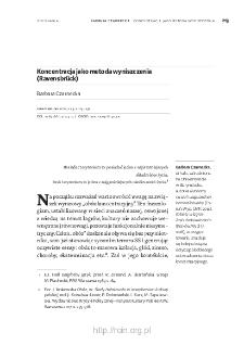 Koncentracja jako metoda wyniszczenia (Ravensbrück)