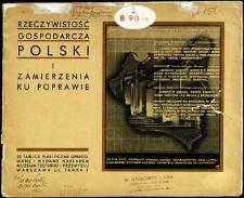 Rzeczywistość gospodarcza Polski i zamierzenia ku poprawie : 22 tablice plastyczne